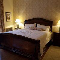 Evans Guest Bedroom Wallpaper is Marigold_041218